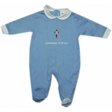 Real Club Celta  Pijama Pelele 9 Meses