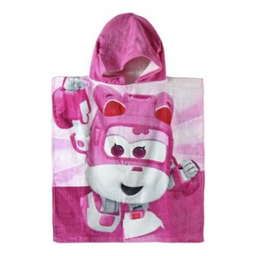 Super Wings Poncho de Playa