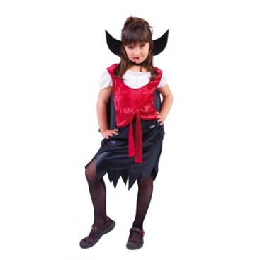 Disfraz Niña Drakulina Talla S