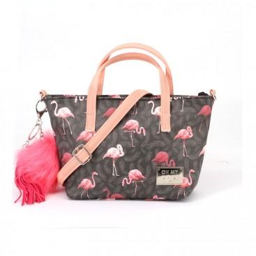 Oh my pop Bolso Bandolera Flamingo