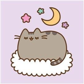 Pusheen Cat Cuadro soñando