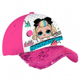 Lol Surprise Gorra Lentejuelas Rosa