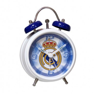 Real Madrid Reloj Despertador Campana