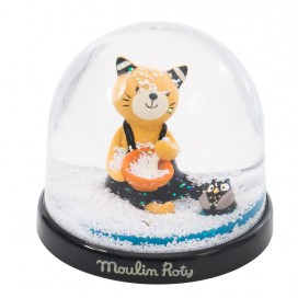Moulin Roty Bola Nieve Moustaches