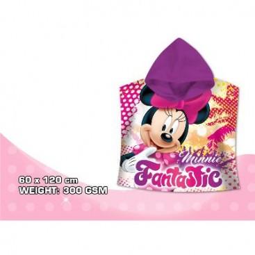 Minnie Mouse Poncho Playa