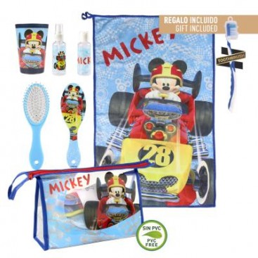 Mickey Roadster Neceser Set Higiene