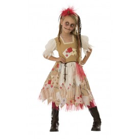 Disfraz Infantil Woodoo Niña T-M