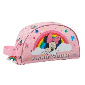 Minnie Mouse Rainbow neceser adapt.