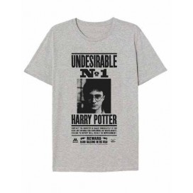 Harry Potter Camiseta Gris Recompen T-10