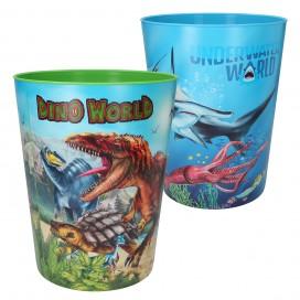 Dino World Papelera