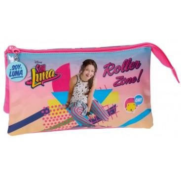 Soy Luna Roller Neceser Portatodo Triple